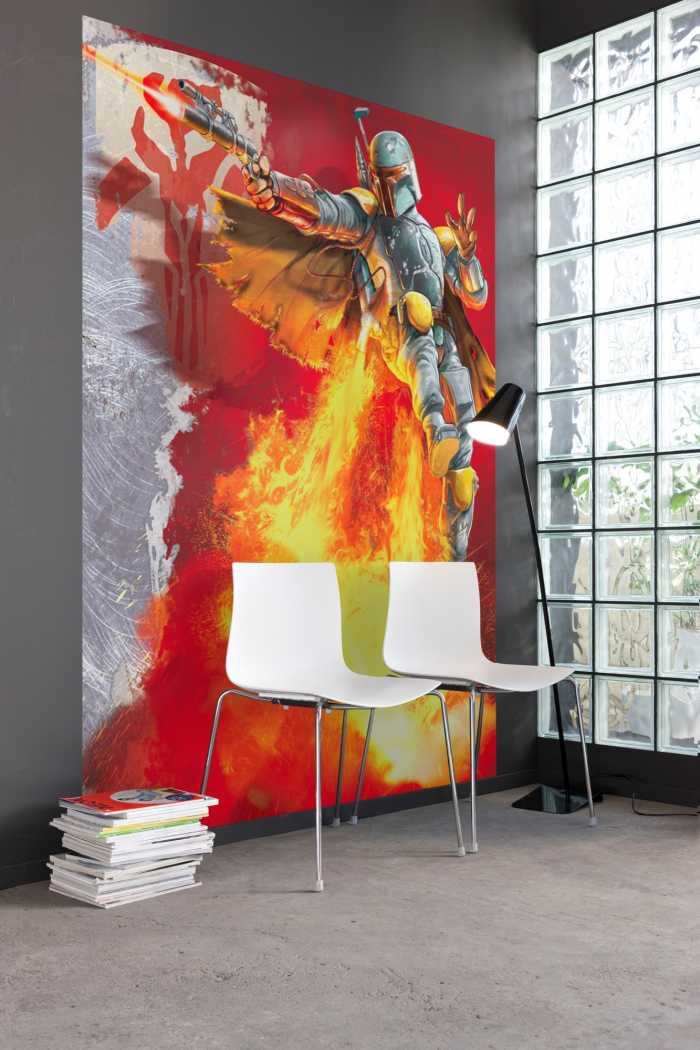 Photo murale Star Wars Boba Fett