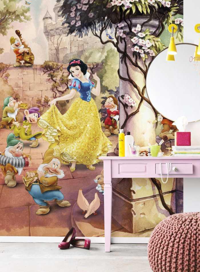 Photo murale Dancing Snow White