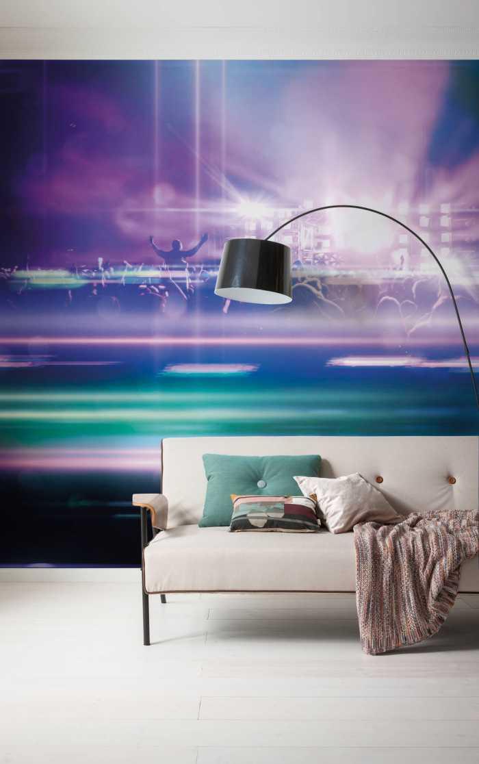 Poster XXL impression numérique Open Air Electro