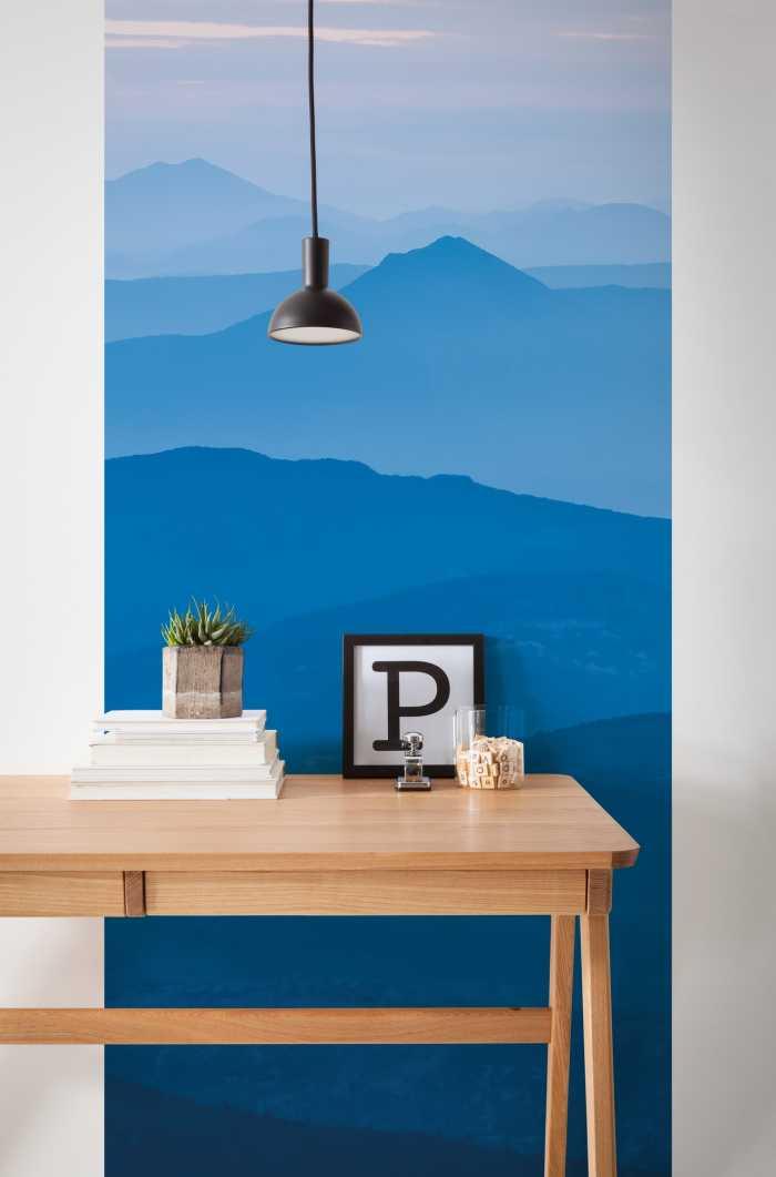 Panneau sur intissé  Blue MountainPanel