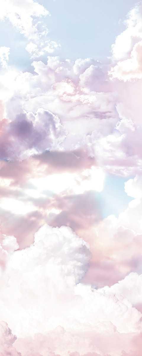 Panneau sur intissé  Clouds Panel