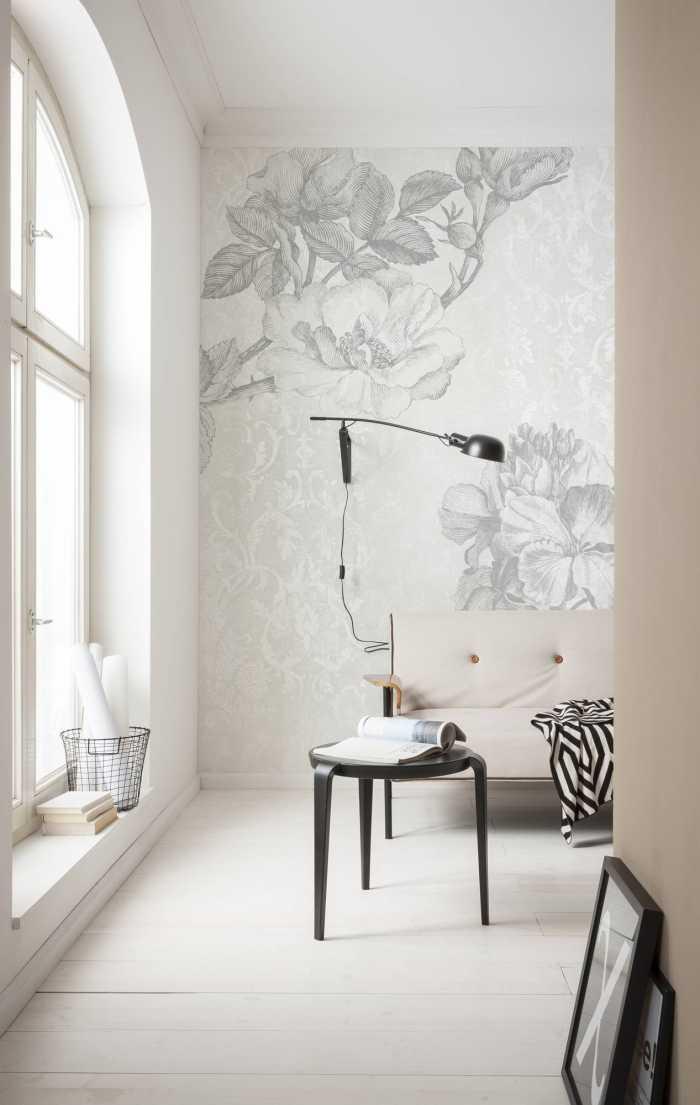 Poster XXL impression numérique Baroque Grey