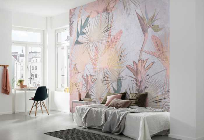 Photo murale Tropical Concrete