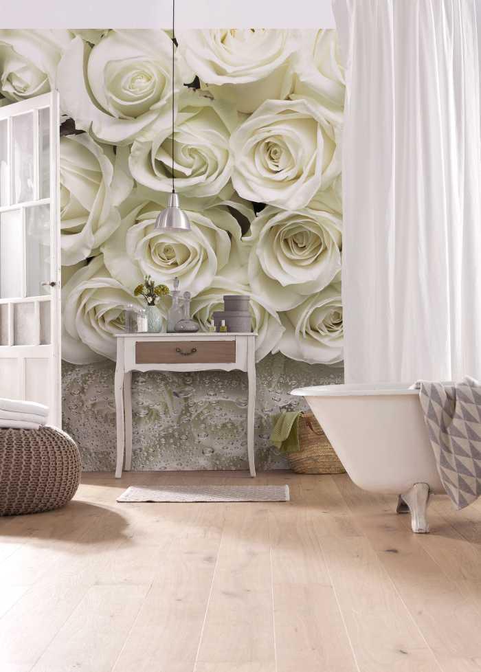 Photo murale A la Rose