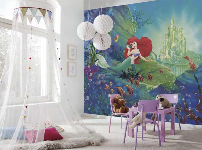 Photo murale Ariel's Castle