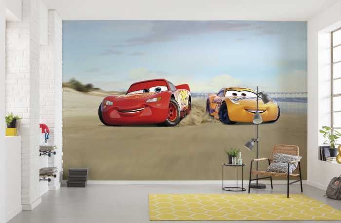 Photo murale Cars Beach Race
