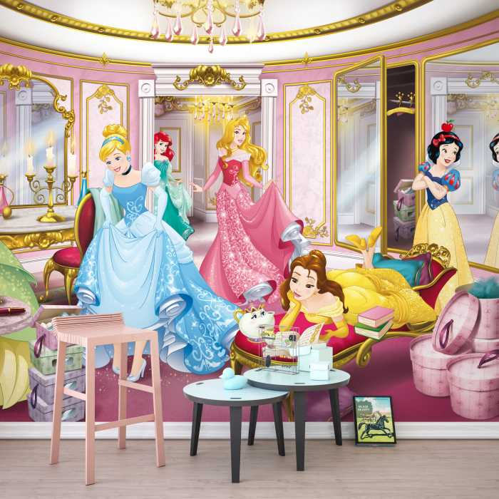 Photo murale Disney Princess Mirror