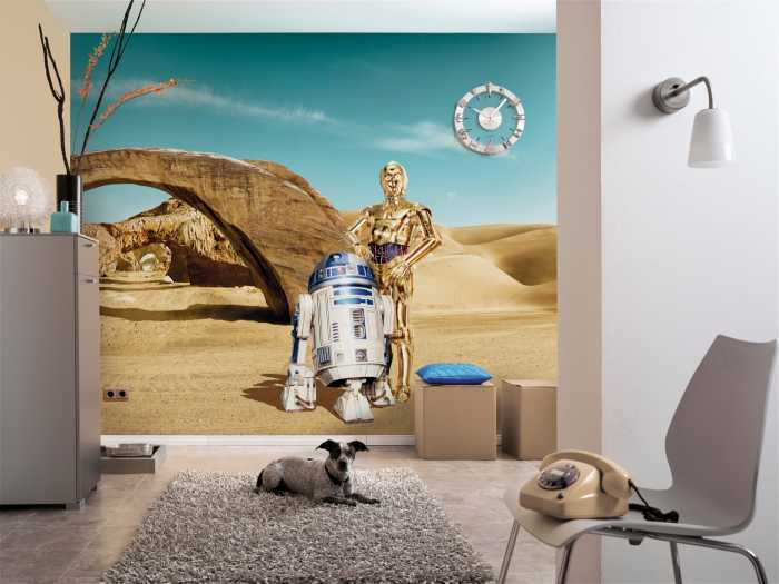 Photo murale Star Wars Lost Droids