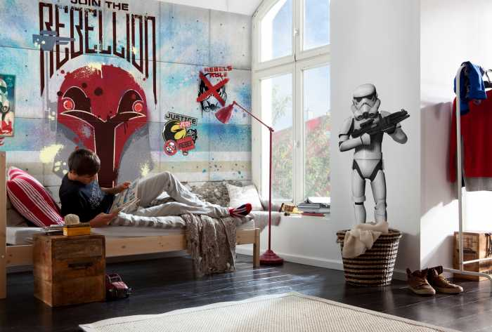 Photo murale Star Wars Rebels Wall