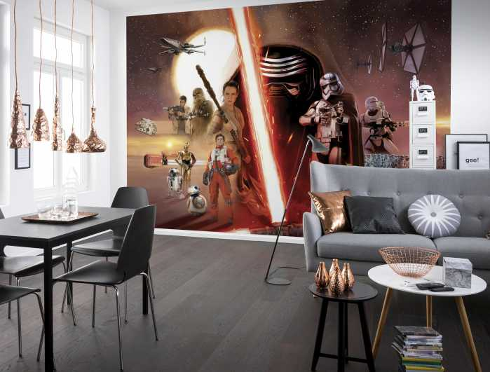 Photo murale Star Wars EP7 Collage