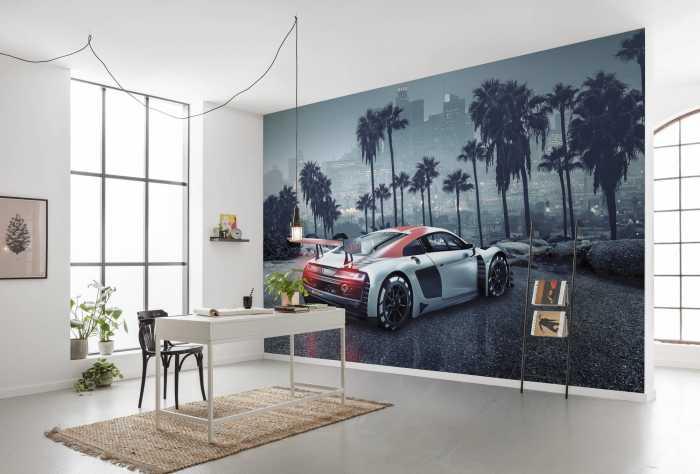 Photo murale Audi R8 L.A.