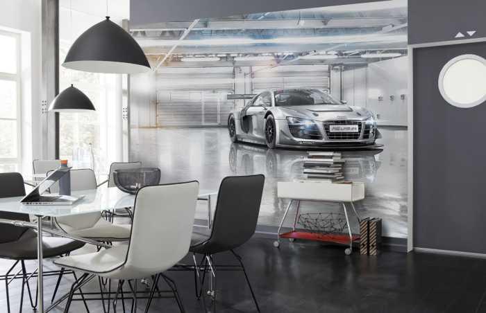 Photo murale Audi R8 Le Mans