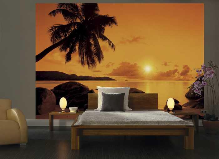 Photo murale Sunset