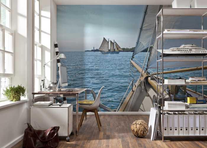 Photo murale Sailing