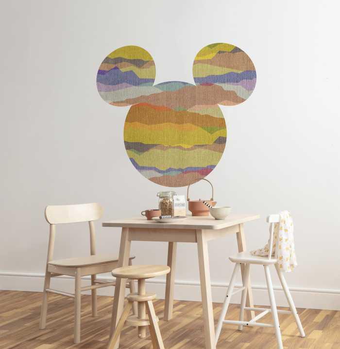 Sticker mural Mickey Head Vista
