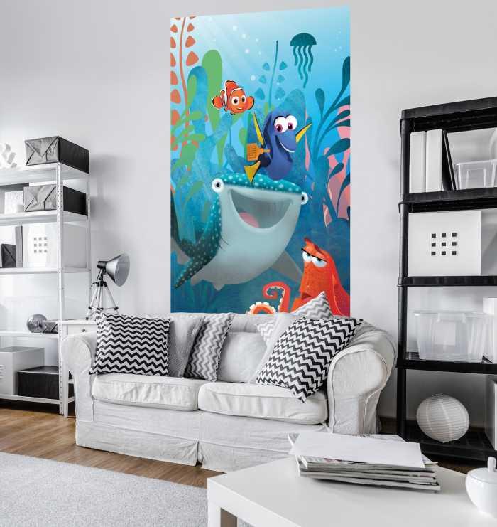 Poster XXL impression numérique Finding Dory Aquarell