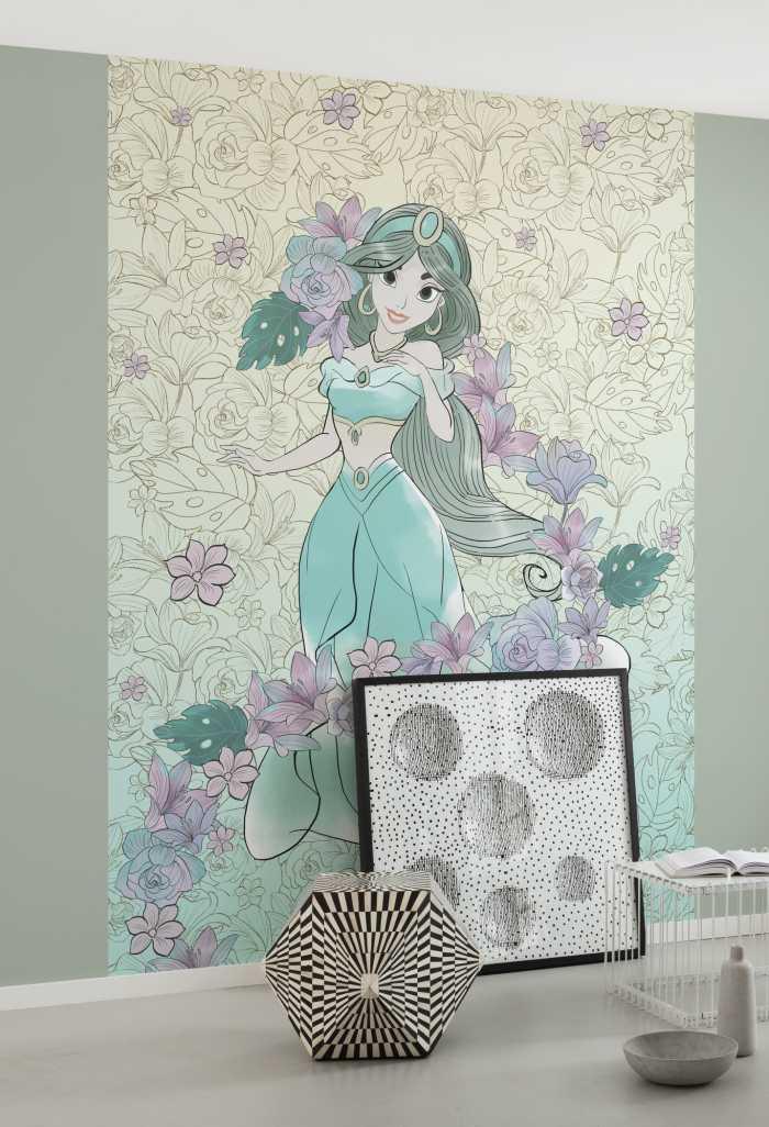 Poster XXL impression numérique Jasmin Pale Flowers