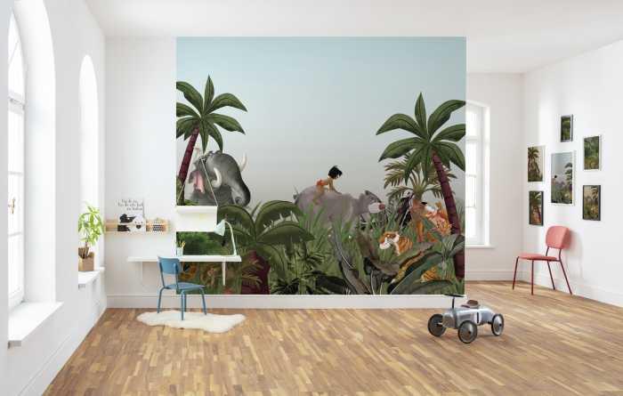 Poster XXL impression numérique Jungle Book