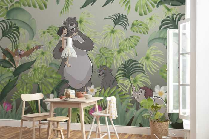 Poster XXL impression numérique Welcome To the Jungle