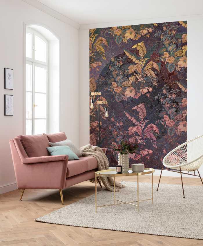 Poster XXL impression numérique Orient Violet