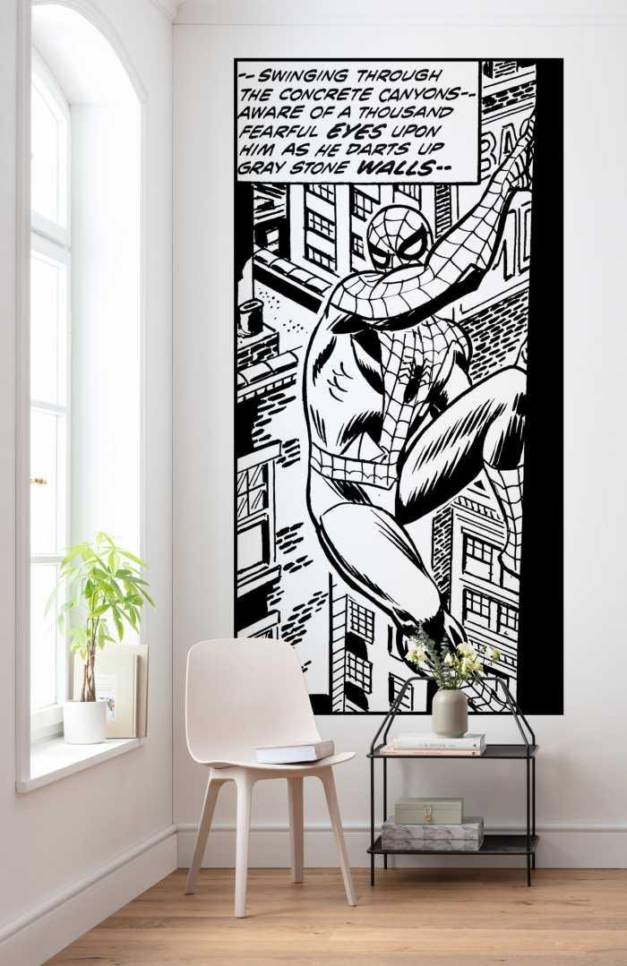 Poster XXL impression numérique Spider-Man Classic Climb