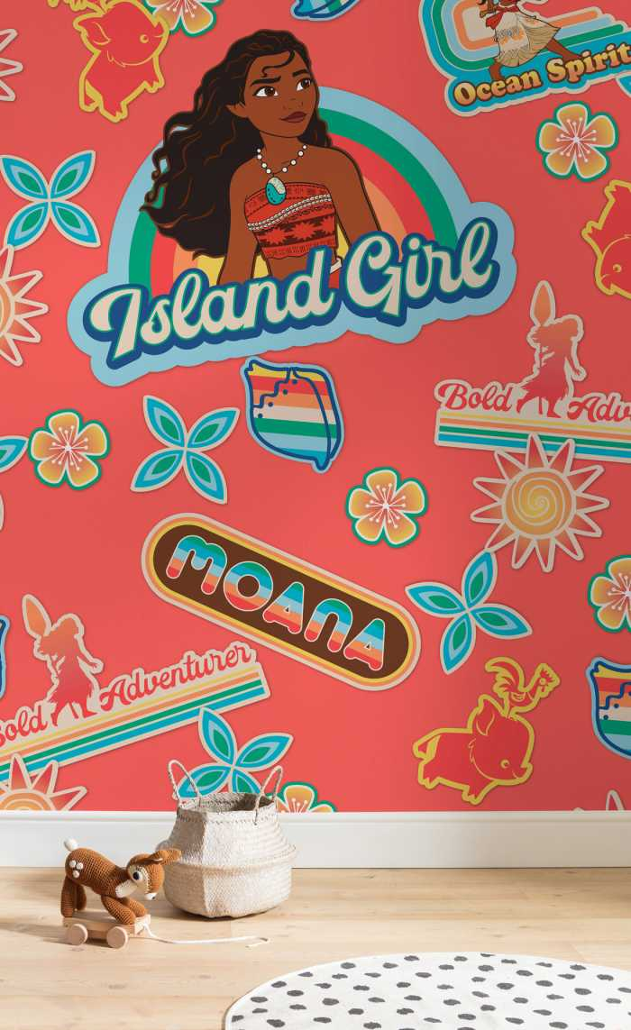 Poster XXL impression numérique Moana Island Girl
