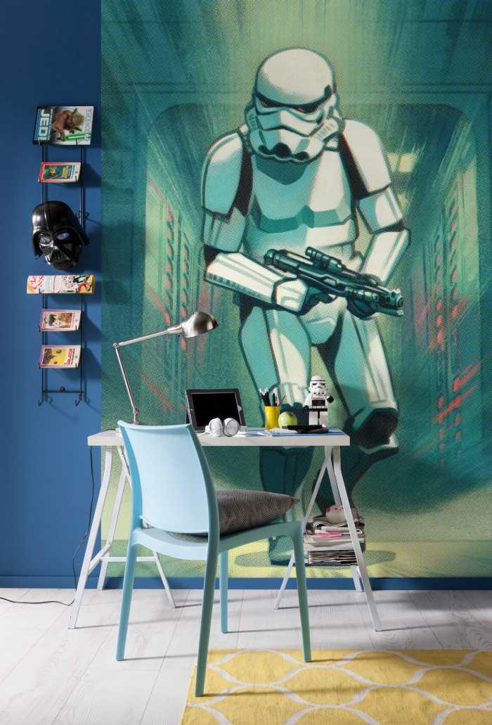 Poster XXL impression numérique Mandalorian Stormtrooper Print