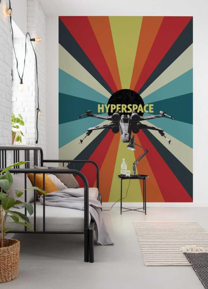 Poster XXL impression numérique Star Wars Hyperspace