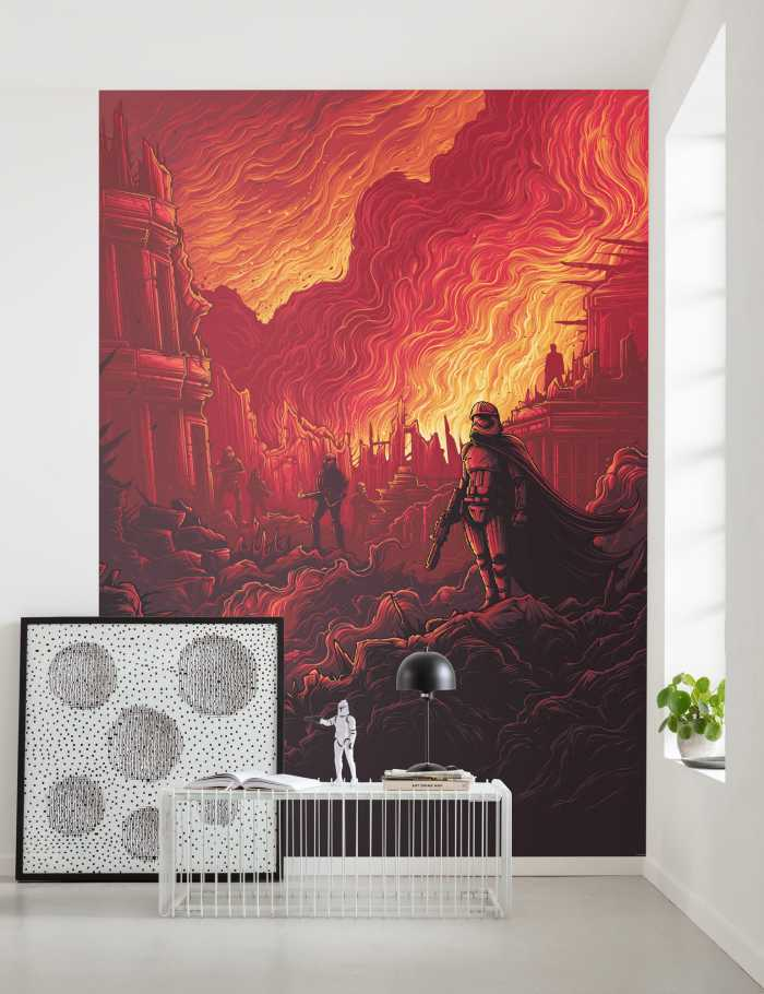 Poster XXL impression numérique Star Wars First Order Purge