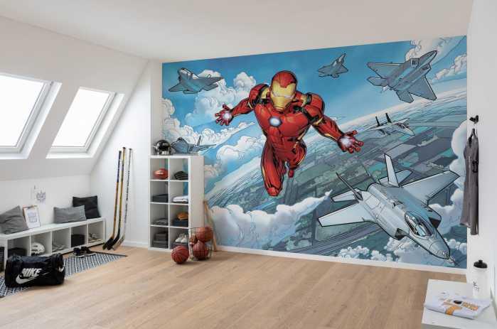 Poster XXL impression numérique Iron Man Flight