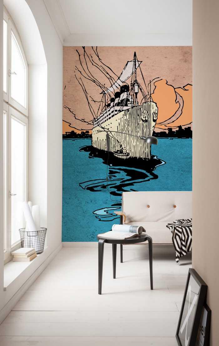 Poster XXL impression numérique La Nave