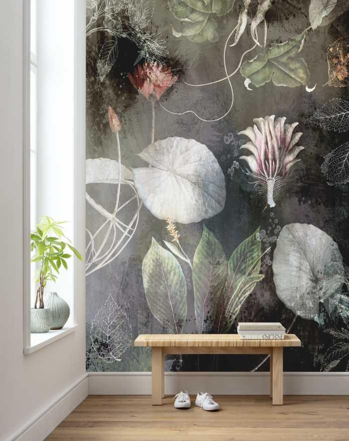 Poster XXL impression numérique Night Flowers