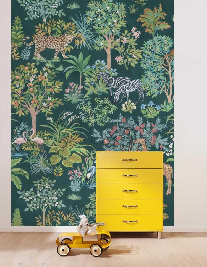 Poster XXL impression numérique Happy Jungle