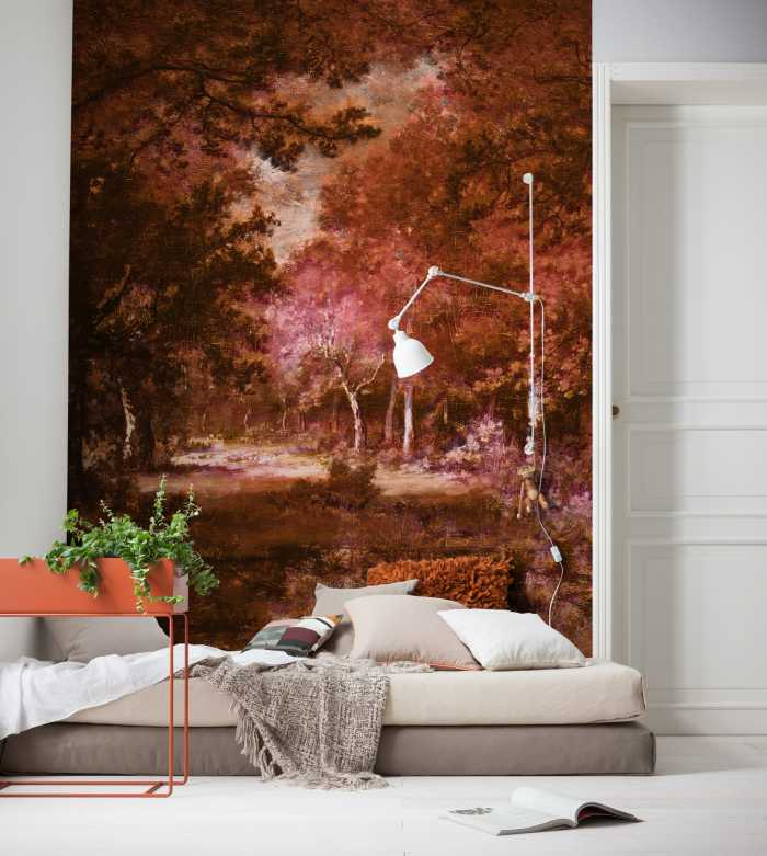 Poster XXL impression numérique Autumna rosso