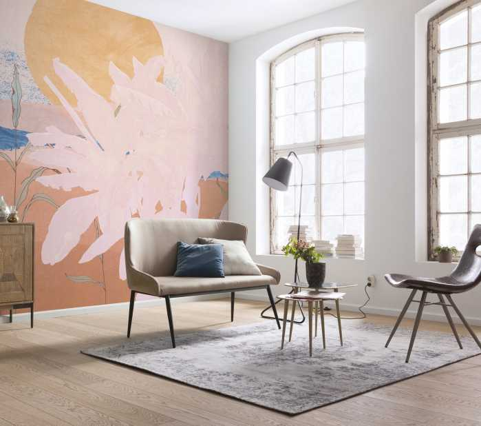 Poster XXL impression numérique Platanos Pink