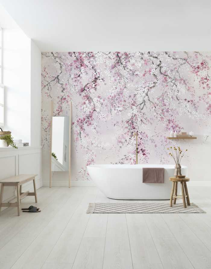 Poster XXL impression numérique Kirschblüten