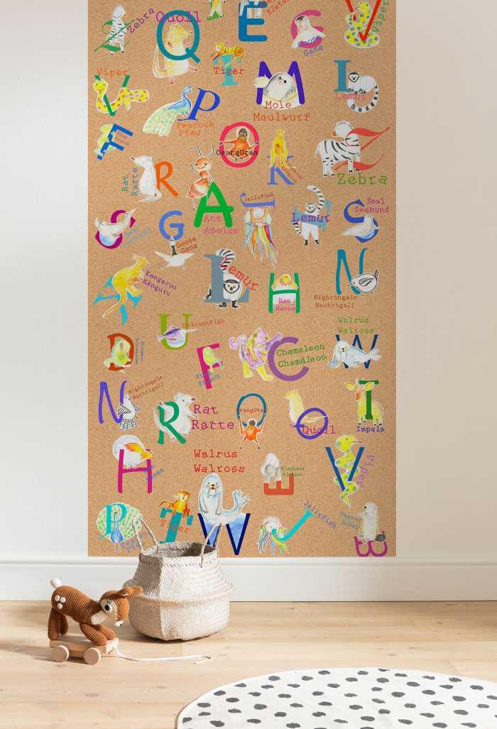 Poster XXL impression numérique Animals A-Z