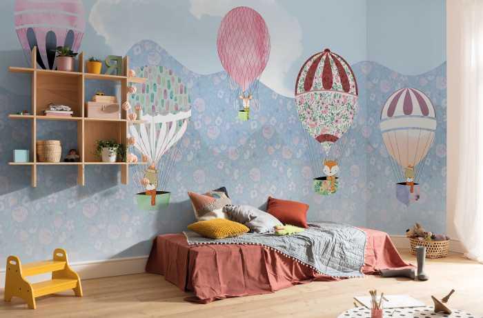 Poster XXL impression numérique Happy Balloon