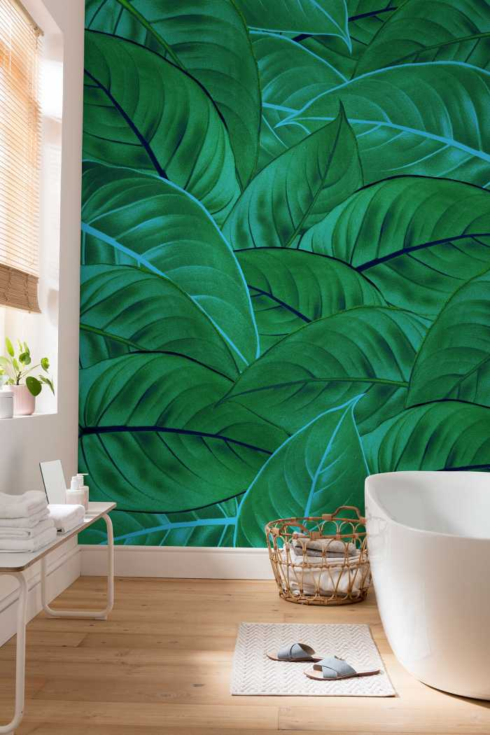 Poster XXL impression numérique Jungle Leaves