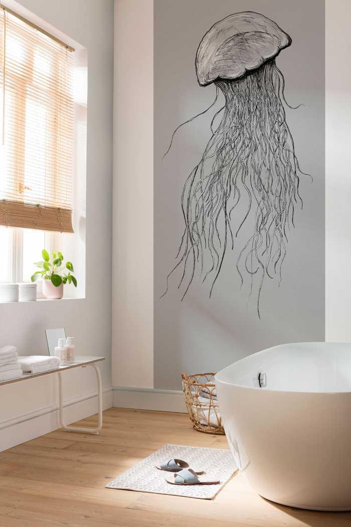 Poster XXL impression numérique Jellyfish