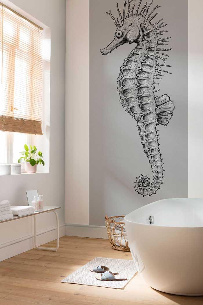 Poster XXL impression numérique Sea Horse