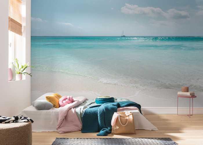 Poster XXL impression numérique Azur Ocean