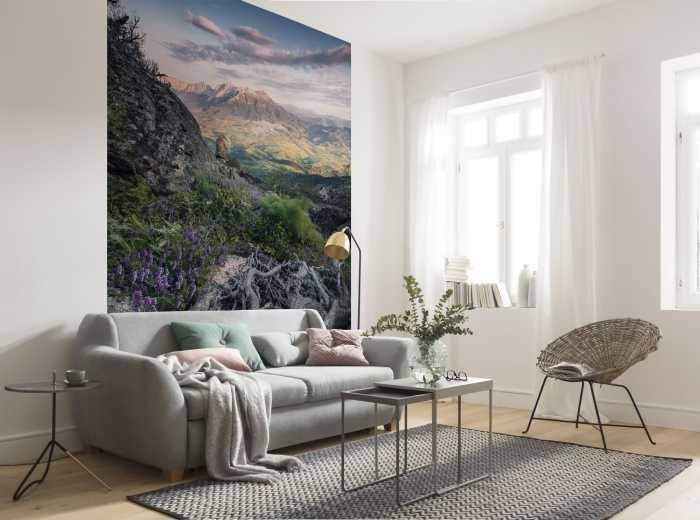 Poster XXL impression numérique Flowering Tales