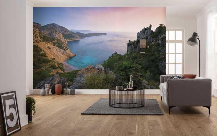 Poster XXL impression numérique Emerald Cove