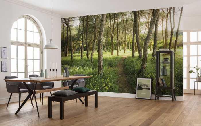 Poster XXL impression numérique Blütenzauberwald