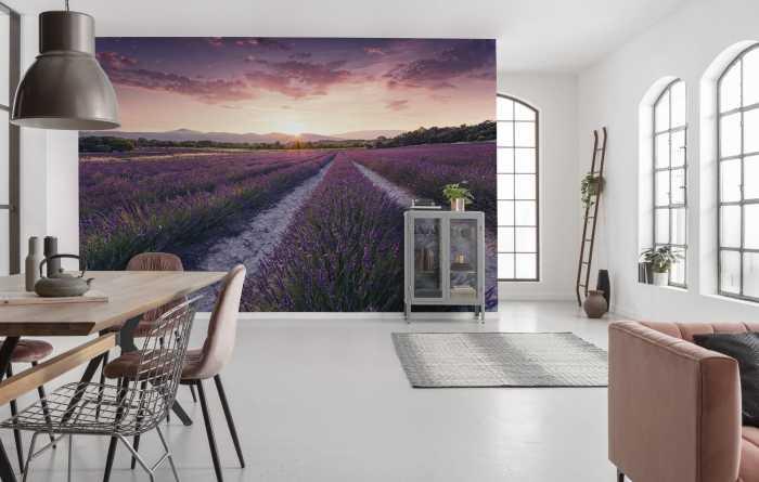 Poster XXL impression numérique Lavender Dream