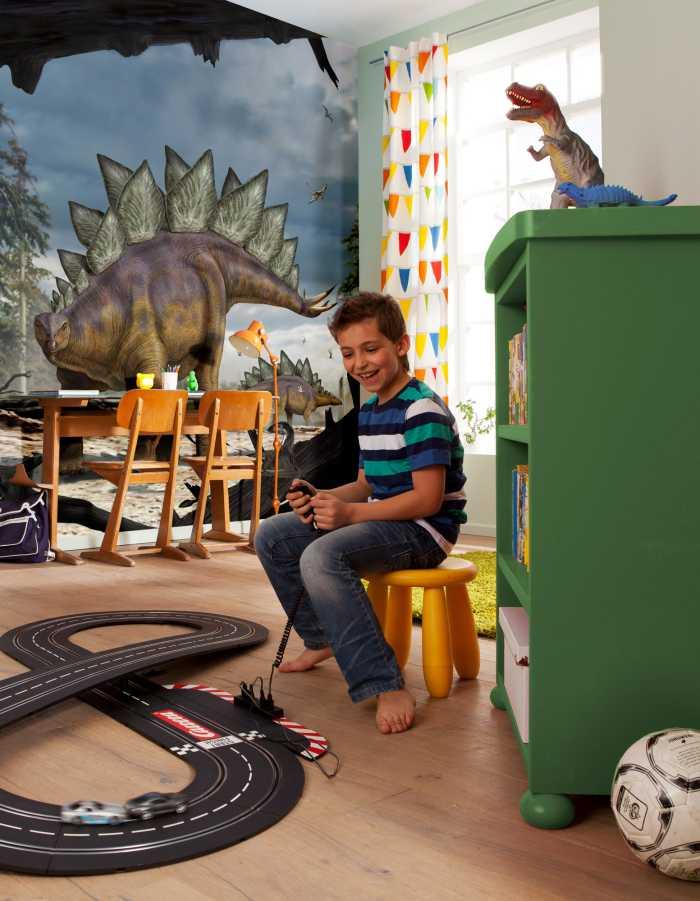 Photo murale intissé Stegosaurus