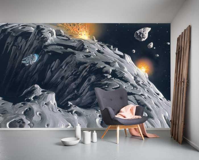 Poster XXL impression numérique Star Wars Classic RMQ Asteroid