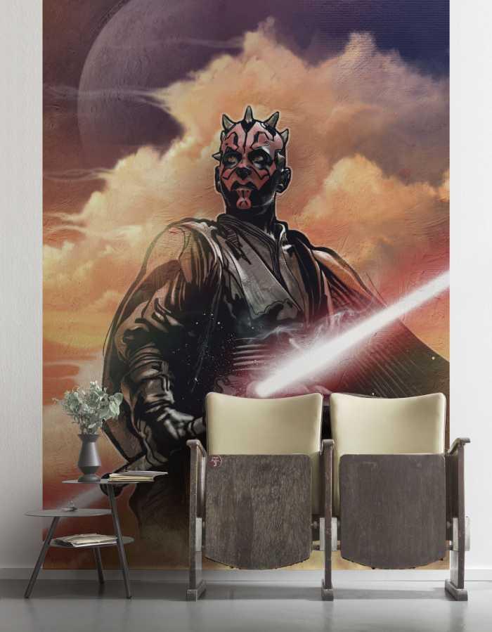 Poster XXL impression numérique Star Wars Classic Darth Maul