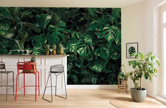 Poster XXL impression numérique Tropical Wall